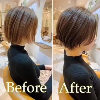 ハンサムショート ショートヘア ショート ベリーショート ヘアスタイルや髪型の写真・画像
