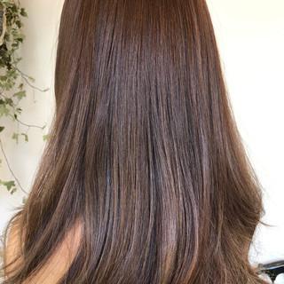 女子会 デート ナチュラル イルミナカラー ヘアスタイルや髪型の写真・画像