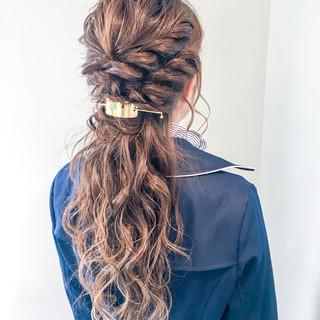 パーティ 上品 結婚式 ルーズ ヘアスタイルや髪型の写真・画像