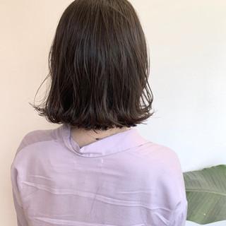 ボブ ブラウンベージュ アッシュベージュ ナチュラルベージュ ヘアスタイルや髪型の写真・画像
