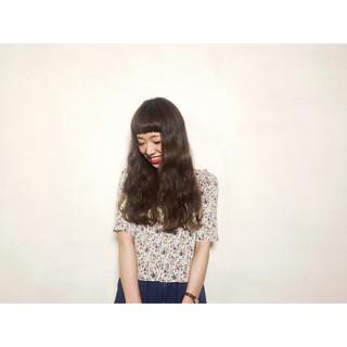 ピュア パーマ 外国人風 ロング ヘアスタイルや髪型の写真・画像