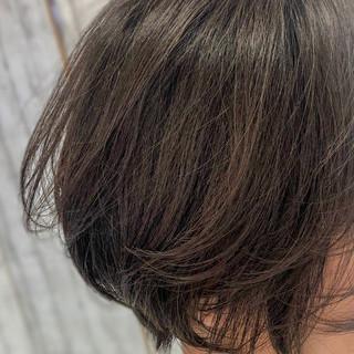 フェミニン ショートボブ マッシュショート ショート ヘアスタイルや髪型の写真・画像