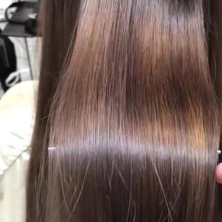 髪質改善 最新トリートメント トリートメント ロング ヘアスタイルや髪型の写真・画像