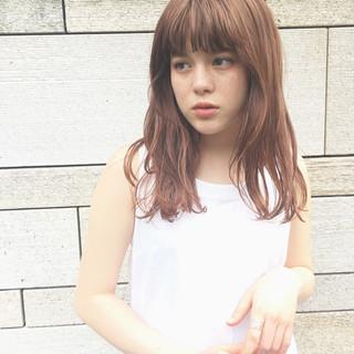 簡単スタイリング くせ毛 ナチュラル ウェット感 ヘアスタイルや髪型の写真・画像