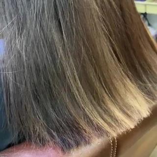 ストリート ホワイトベージュ インナーカラー 透明感カラー ヘアスタイルや髪型の写真・画像