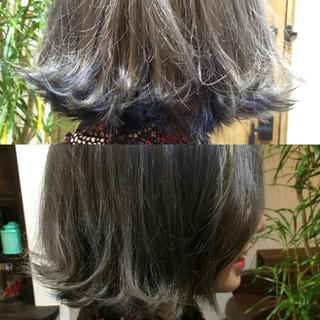 外国人風 インナーカラー グラデーションカラー ストリート ヘアスタイルや髪型の写真・画像