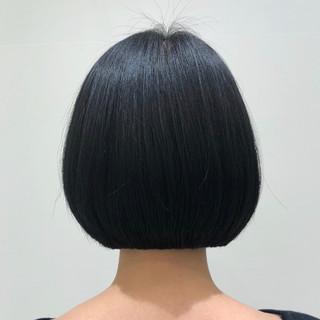 ナチュラル ベリーショート ボブ ショートヘア ヘアスタイルや髪型の写真・画像