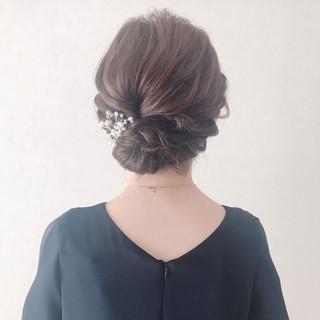 エレガント 成人式 お呼ばれ 結婚式 ヘアスタイルや髪型の写真・画像
