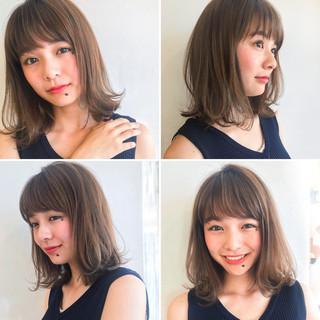 大人かわいい ナチュラル レイヤーカット 抜け感 ヘアスタイルや髪型の写真・画像