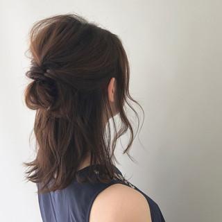 簡単ヘアアレンジ ボブ ヘアアレンジ 結婚式 ヘアスタイルや髪型の写真・画像