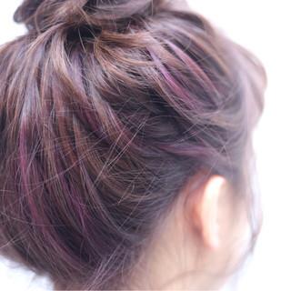 ストリート ショート セミロング ヘアアレンジ ヘアスタイルや髪型の写真・画像 ヘアスタイルや髪型の写真・画像