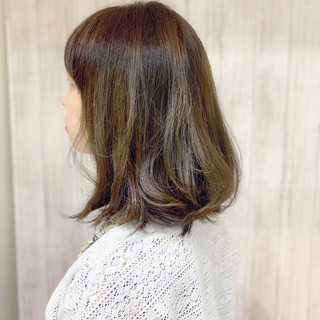 ガーリー ブリーチカラー ブリーチオンカラー ミディアム ヘアスタイルや髪型の写真・画像