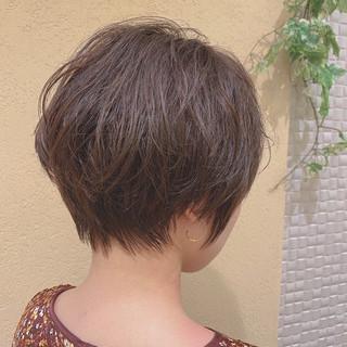 ベリーショート ショート ショートヘア パーマ ヘアスタイルや髪型の写真・画像
