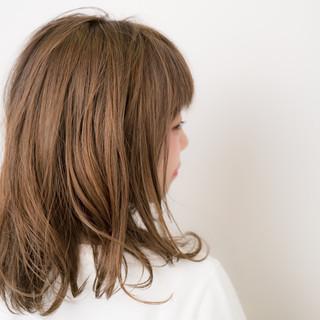 外国人風 ミディアム ストリート アッシュ ヘアスタイルや髪型の写真・画像