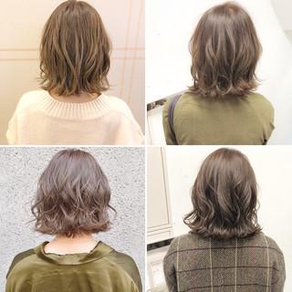簡単ヘアアレンジ ボブ ヘアアレンジ ナチュラル ヘアスタイルや髪型の写真・画像