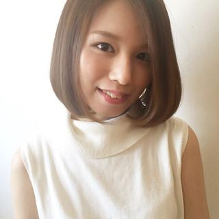 ピュア 大人かわいい ハイライト アッシュ ヘアスタイルや髪型の写真・画像