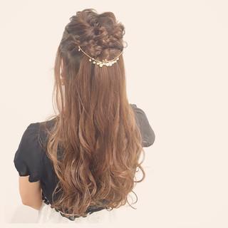 ヘアアレンジ ロング 大人かわいい アップスタイル ヘアスタイルや髪型の写真・画像 ヘアスタイルや髪型の写真・画像