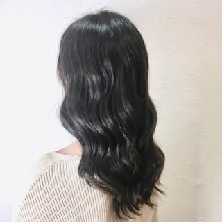 透明感 フェミニン ブルージュ 暗髪 ヘアスタイルや髪型の写真・画像