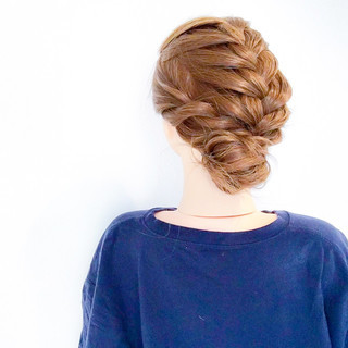 ヘアアレンジ フェミニン 結婚式 ロング ヘアスタイルや髪型の写真・画像