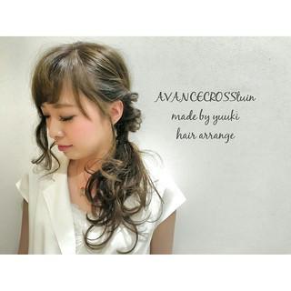 大人かわいい 簡単ヘアアレンジ アッシュ ショート ヘアスタイルや髪型の写真・画像