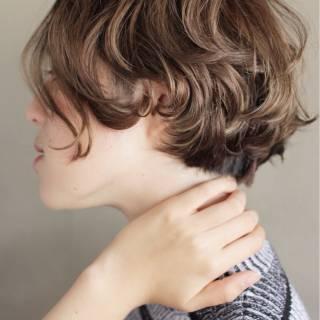 束感 ボブ 抜け感 ナチュラル ヘアスタイルや髪型の写真・画像