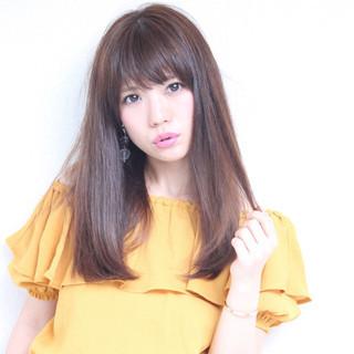 大人女子 斜め前髪 透明感 大人かわいい ヘアスタイルや髪型の写真・画像