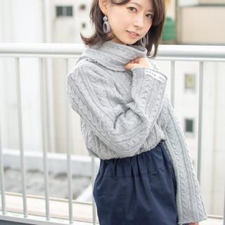 エフォートレス オフィス 女子力 大人かわいい ヘアスタイルや髪型の写真・画像