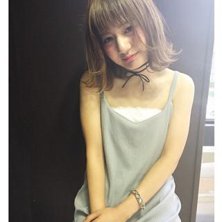 前髪あり 外国人風 ゆるふわ 大人かわいい ヘアスタイルや髪型の写真・画像