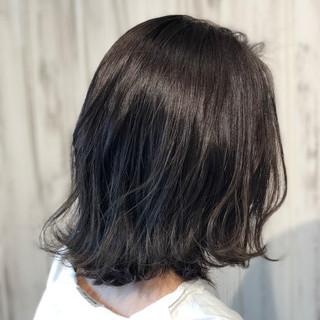 ブルージュ イルミナカラー ボブ 外ハネ ヘアスタイルや髪型の写真・画像 ヘアスタイルや髪型の写真・画像