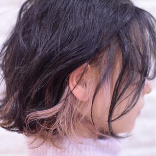 ボブ ヘアアレンジ 成人式 デート ヘアスタイルや髪型の写真・画像