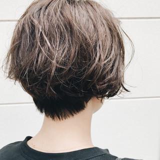 抜け感 ヘアアレンジ ボブ ナチュラル ヘアスタイルや髪型の写真・画像