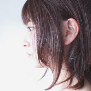 ピンク セミロング グレージュ ラベンダー ヘアスタイルや髪型の写真・画像 ヘアスタイルや髪型の写真・画像