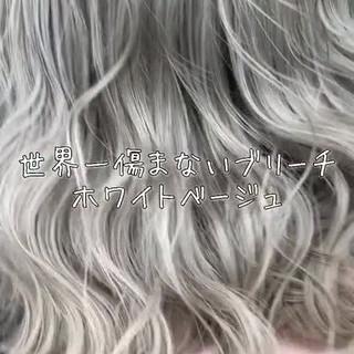 外国人風 グラデーションカラー 外国人風カラー ミディアム ヘアスタイルや髪型の写真・画像