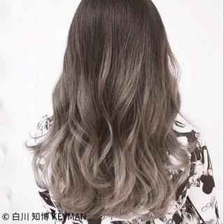 ニュアンス 秋 外国人風 セミロング ヘアスタイルや髪型の写真・画像