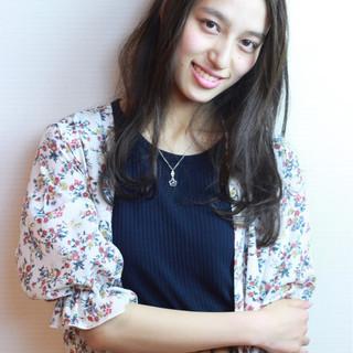 外国人風カラー 大人かわいい 清楚 グレージュ ヘアスタイルや髪型の写真・画像