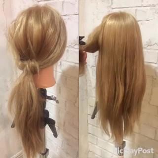 ショート 大人かわいい 簡単ヘアアレンジ ヘアアレンジ ヘアスタイルや髪型の写真・画像