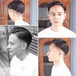 ストリート ツーブロック 刈り上げ メンズヘア ヘアスタイルや髪型の写真・画像
