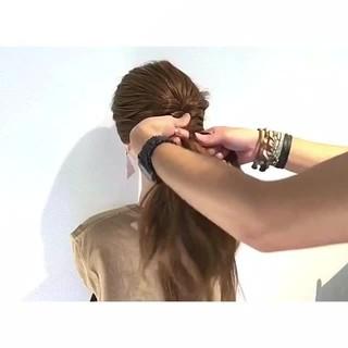 涼しげ ヘアアレンジ デート 色気 ヘアスタイルや髪型の写真・画像