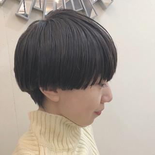 グラデーションカラー ナチュラル マッシュウルフ ショート ヘアスタイルや髪型の写真・画像