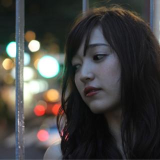 かっこいい 暗髪 ストリート ラフ ヘアスタイルや髪型の写真・画像
