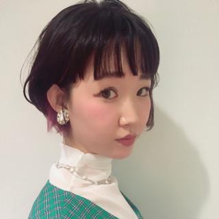 大人かわいい ヘアアレンジ ガーリー モテボブ ヘアスタイルや髪型の写真・画像