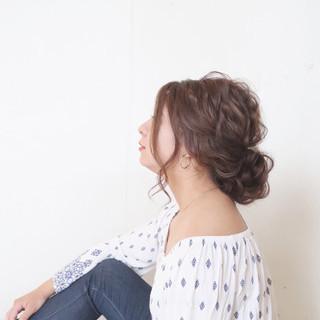 ロング 大人かわいい ゆるふわ ナチュラル ヘアスタイルや髪型の写真・画像