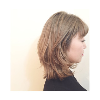 ボブ 外国人風 ミディアム ストリート ヘアスタイルや髪型の写真・画像