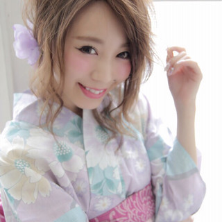 セミロング フェミニン 大人かわいい ショート ヘアスタイルや髪型の写真・画像