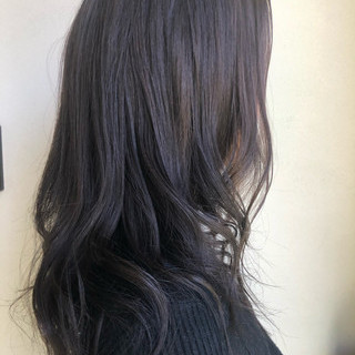 オフィス パーマ アッシュグレージュ コンサバ ヘアスタイルや髪型の写真・画像