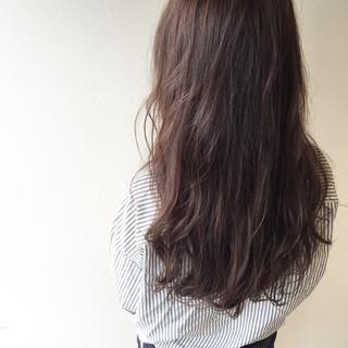 暗髪 透明感 ロング ナチュラル ヘアスタイルや髪型の写真・画像 ヘアスタイルや髪型の写真・画像