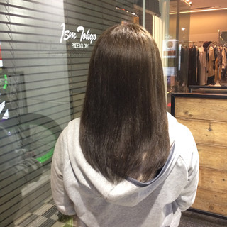 アッシュ ハイライト 大人かわいい ナチュラル ヘアスタイルや髪型の写真・画像