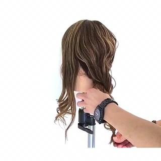 ナチュラル ショート 簡単ヘアアレンジ セミロング ヘアスタイルや髪型の写真・画像