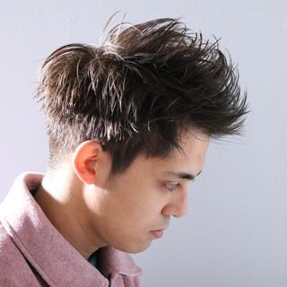 メンズカラー ショート メンズスタイル メンズショート ヘアスタイルや髪型の写真・画像