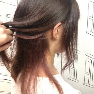 下平知佳さんのヘアスナップ